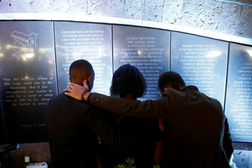 20th anniversary of the U.S. Embassy bombing attack at the August 7th memorial park in Nairobi