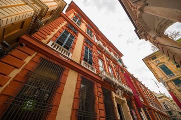 Papiers peints Artistique Palazzo Brignole-Sale detto Palazzo Rosso, il Sistema dei Palazzi dei Rolli, Genova, Liguria, Italia