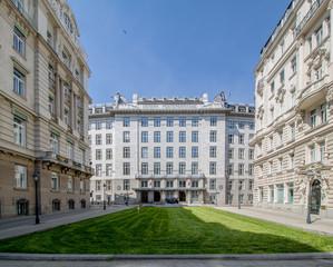 Das achtgeschoßige Gebäude der Österreichischen Postsparkasse war bis 2017 die Zentrale der Bawag P.S.K. und ist eines der bekanntesten Jugendstilgebäude Wiens.