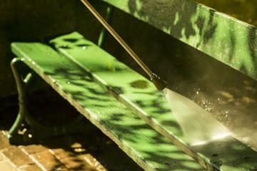 mycie parku woda pod ciśnieniem