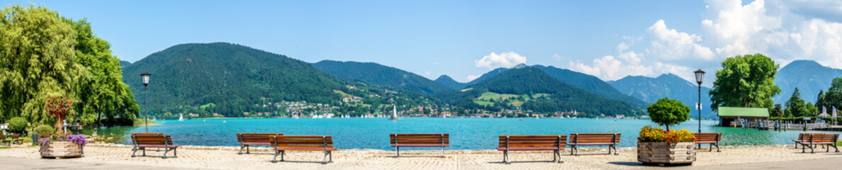 tegernsee lake - bavaria - germany Wall mural