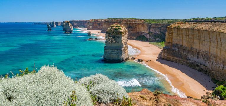 Twelve Apostles Panorama Australia