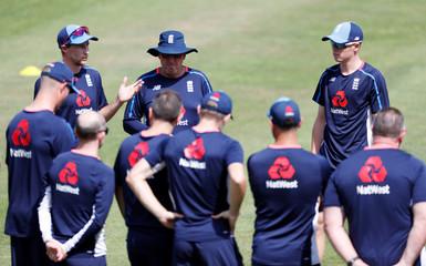 Cricket - England nets
