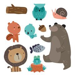 animals character vector design