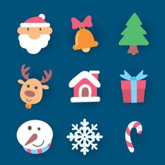 Icon Christmas, vector