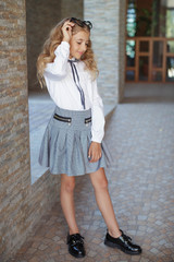 School children's fashion