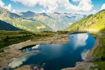 Valgerola - Valtellina (IT) - Diga di Pescegallo - Vista aerea