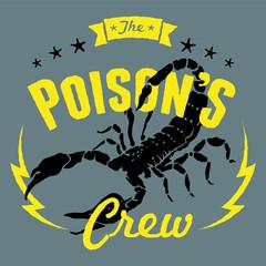 scorpion poison crew