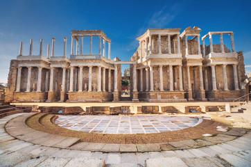 Merida roman theater, Merida, Extremadura, Spain. Wall mural