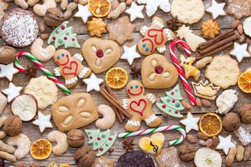 Lustige Lebkuchen zum Weihnachtsfest