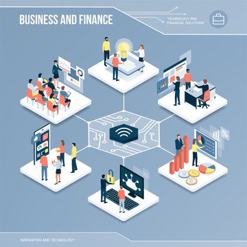 Digital core: business and finance