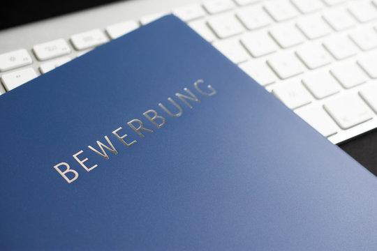 Online Bewerbung neue Arbeit