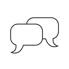 chat icon illustration isolated vector sign symbol. vector