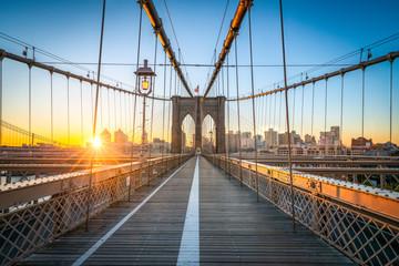 Fotomurales - Brooklyn Bridge in New York
