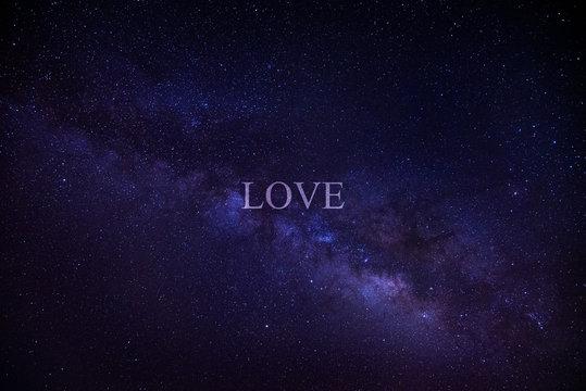 LOVE - Sternenbild