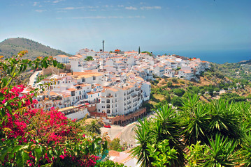 Frigiliana Andalusia Costa del Sol Spain