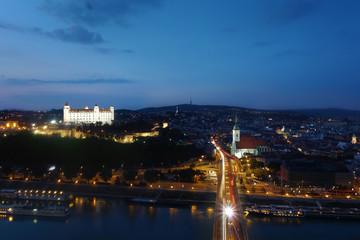Bratislava Slovakia river view