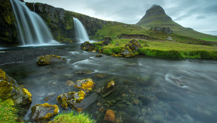 Kirkjufell mountain, West of Iceland