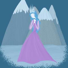 Illustration of Snow Queen