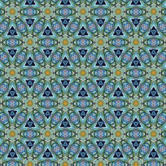 Fractal surreal art. Psychedelic fantasy artwork. Graphic painting design pattern. Template for printed production decor. Geometric fantastic wallpaper. Digital drawing.