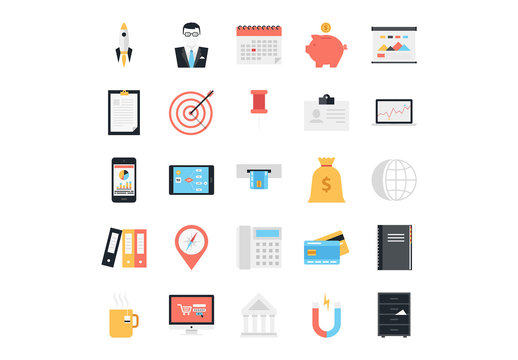 25 Business and Finance Icons