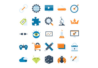 25 SEO and Web Icons