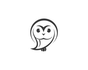 Owl symbol illustration