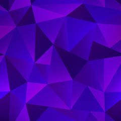 Violet color triangle pattern