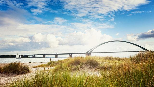 Fehmarn sound bridge