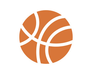 basketball ball sport equipment image vector icon logo