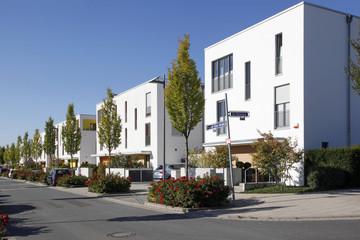 Moderner Wohnungsbau in Frankfurt Riedberg