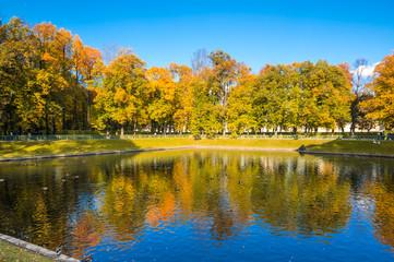 Summer Garden in Saint-Petersburg, Russia