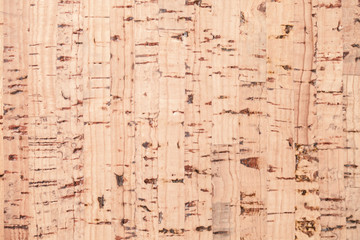 Flat cork plank, background texture