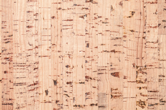 Flat cork plank, background texture