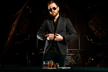 gambling mature man