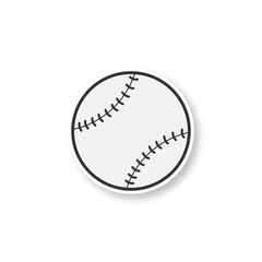 Baseball ball patch