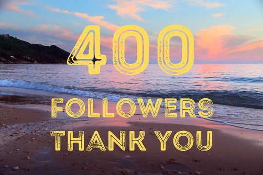 400 followers