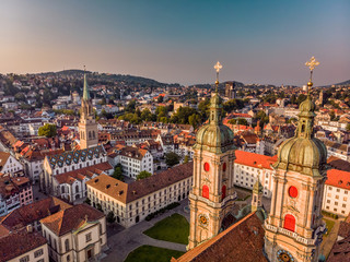 Abbey Cathedral of Saint Gall Fototapete
