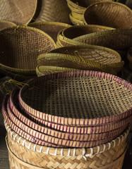 Bamboo hand made craft
