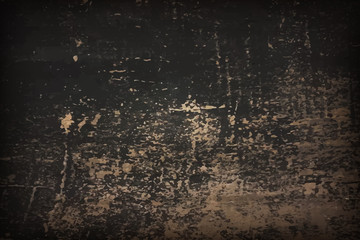Art Old black surfase Background Texture Grunge in scratches