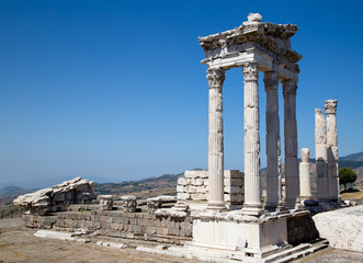 Pergamon Museum Ruins Turkey