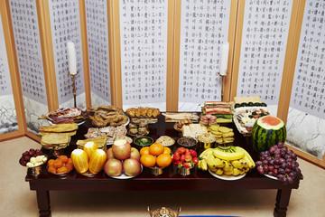 Traditional Korean New Year food