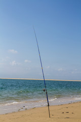 pêche au bord de mer