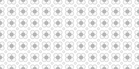 Retro flower background. Seamless pattern. Vector. レトロお花パターン