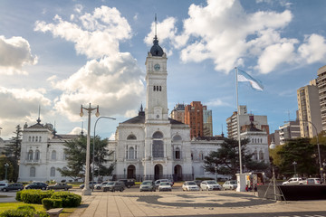 Municipal Palace, La Plata Town Hall - La Plata, Buenos Aires Province, Argentina