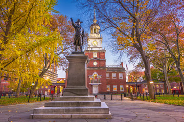 Fototapete - Independence Hall in Philadelphia
