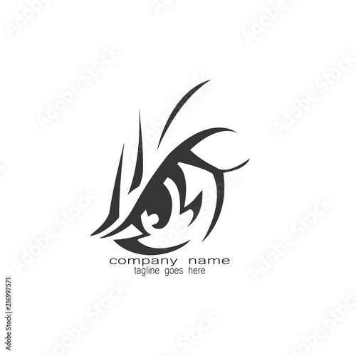 b6faa6205d402 eye tribal tattoo