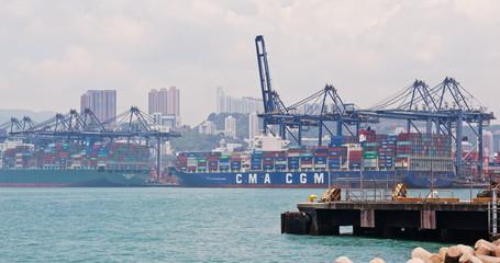 Hong Kong Kwai Tsing Container Terminal