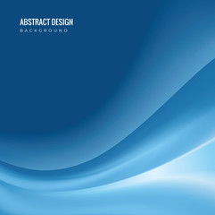 Template Abstract background with curves lines
