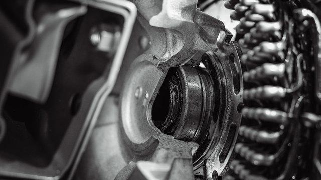 Gear Shaft Engine Machine